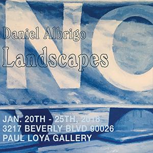 DANIEL ALBRIGO: LANDSCAPES